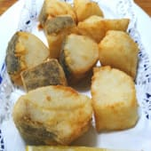Tacos de bacalao rebozados (250 g.)