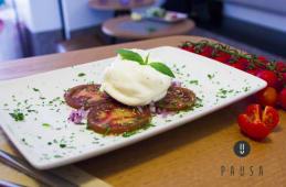Burratina & tomate raf