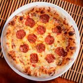 Pizza pepperoni (6 porciones) (25% de descuento)