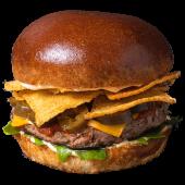 Burger Gonzales (dwie papryczki) L