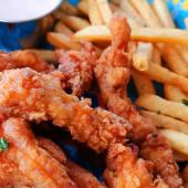 Caja de dedos de pollo