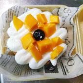Mango Box Cake
