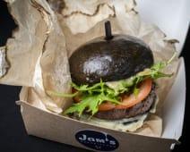 Бургер з яловичиною та блучізом (340г)