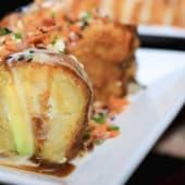 Mangushi relleno de pollo