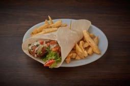 Shawarma veggie de falafel