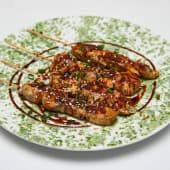#3 Pinchitos de pollo ensartado al estilo Haka