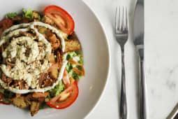 Salade ''Caesar'' nuggets