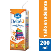 SANCOR BEBE 3  Brik x 200 ml.