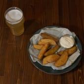 Картопля по-селянськи з соусом BBQ (180/30г)