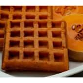 Waffles congelados de zapallo y semillas
