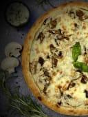 Грибна піца