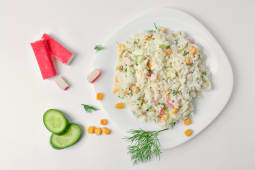 კრაბის სალათი (250გრ)