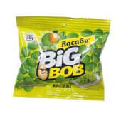 Арахіс смажений солоний в оболонці зі смаком васабі BIG BOB (90г)