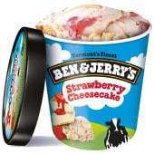 Ben & Jerry's Strawberry Cheesecake (465 ml)