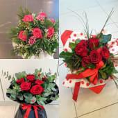 Buket s 7 crvenih ruža