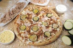 Pizza gamberi (30 cm.)