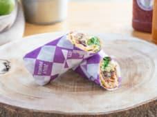 Wrap Chicken Hummus