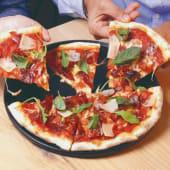 Pizza Jamón Ibérico y Grana Padano