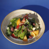 Салат з томатами й сиром Моцарелла (350г)