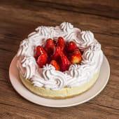 Cheesecake clásico de frutilla (entero)