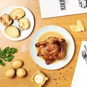 Combo 1: Pollo a l'ast entero