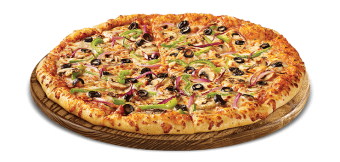 Pizza Veggie Taille M