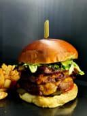 Hambúrguer Americano Triplo