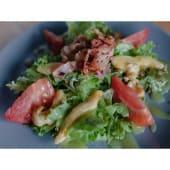 Теплий салат з куркою та беконом (190г)