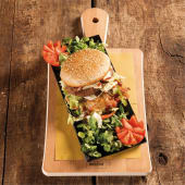 Maxi Cheeseburger di Manzo