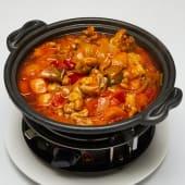 #T3 Pollo al curry rojo al estilo malayo