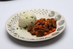 Beef  Stew with Pilau