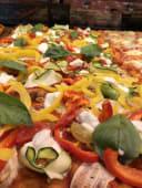 Pizza Verdure e Fiori di Latte