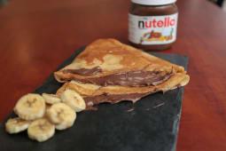 Crêpe Nutella Banane