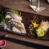 Sashimi shimesaba