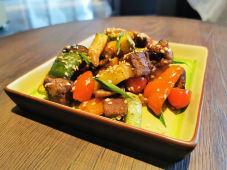 Салат соте из кабачков