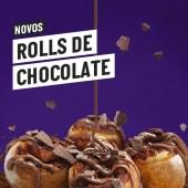 Rolls de Chocolate