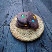 Cookie de chocolate y rocklets (Pack 4 uds.)