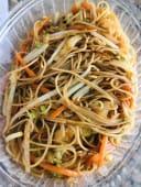 15.Spaghetti di riso con verdure miste