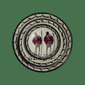 Soapstone Maasai Plate Set