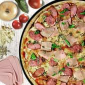 Pizza parrillera