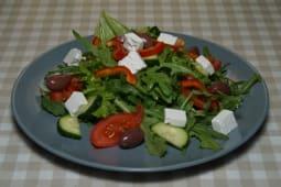 Салат овочевий мікс з сиром фета (230г)