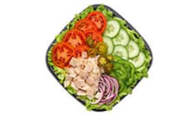 Salade Dinde