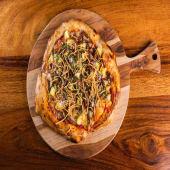 Pizza al Pastor (4 porciones.)