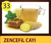 Zencefil cayi - glass ginger tea
