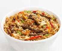 Рис з телятиною і яйцем (350г)