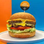 Дабл чізбургер (390г)