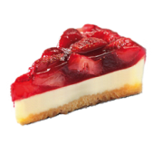 Sernik z truskawkami / Strawberry Cheesecake