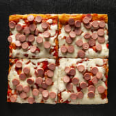 Pizza Wurstel (1 Teglia)