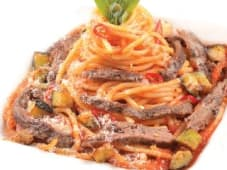 Спагетті з телятиною (340г)
