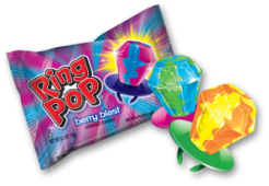 Ring Pop - Anillo de dulce